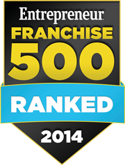 Entrepreneur® Franchise 500 Ranked 2014