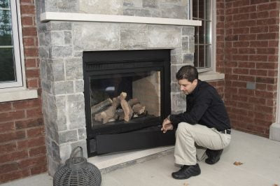 Fireplace home inspection